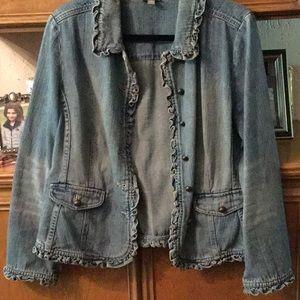 J. Jill Vintage Denim Jacket